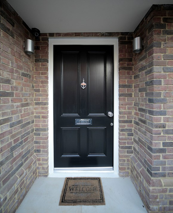 Made-to-order Wooden Entrance Doors
